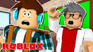Roblox-FIRST DAY at SCHOOL! (Roblox High School)