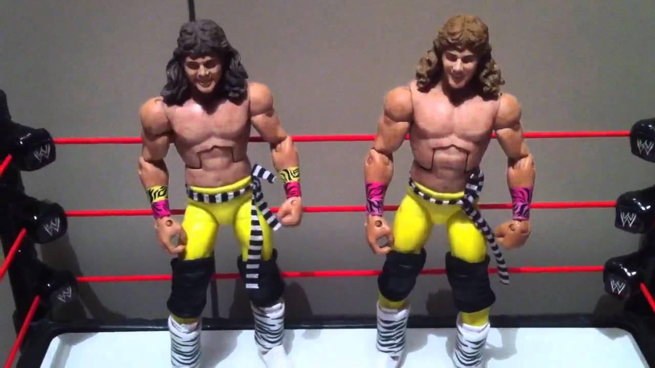 NEW Mattel Shawn Michaels vs Bret Hitman Hart Action Figure Toys 2-Pk