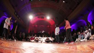 GROOVE'N'MOVE BATTLE 2015 - Hip-Hop Final / Inès&Karim vs Tatiana&Stephane