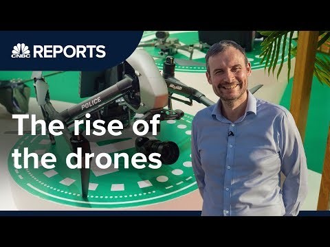Drones are growing
