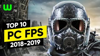Top 10 PC FPS Games of 2018-2019