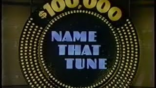 $100,000 Name That Tune (1984) First episode