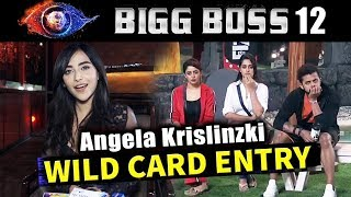 Actress Angela Krislinzki Talks On Her WILD CARD ENTRY In Bigg Boss...