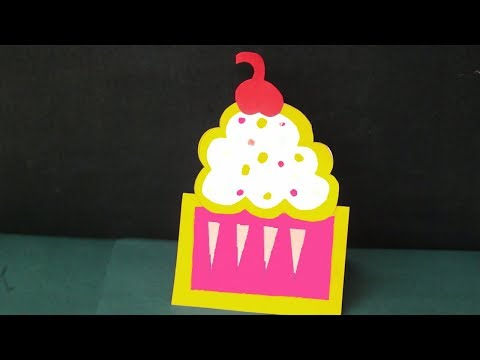 How to Make Paper Cake - Cake Craft Making | DIY Cake With Paper | Easy & Simple Paper Craft Idea
