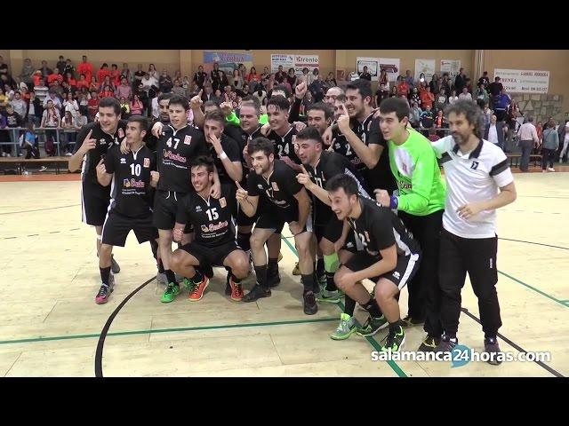 El Balonmano Salamanca sella la permanencia ante el BM Soria