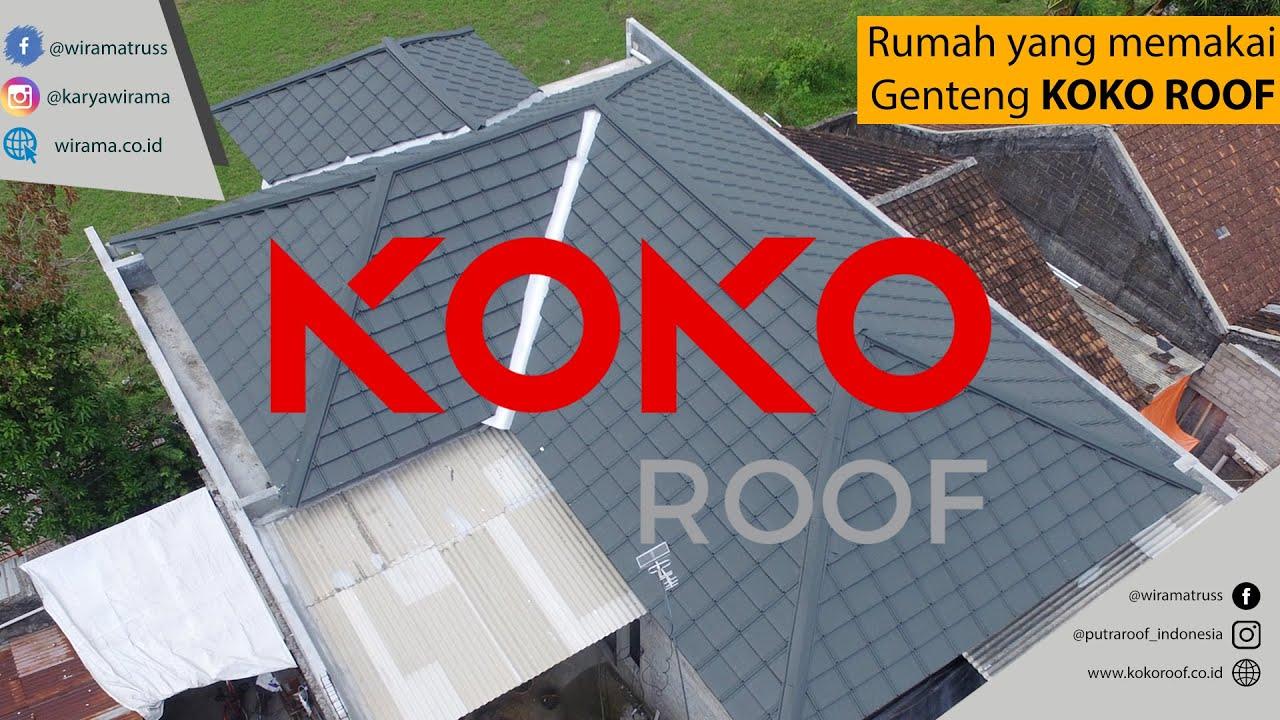 Review genteng KOKO ROOF modern dan minimalis
