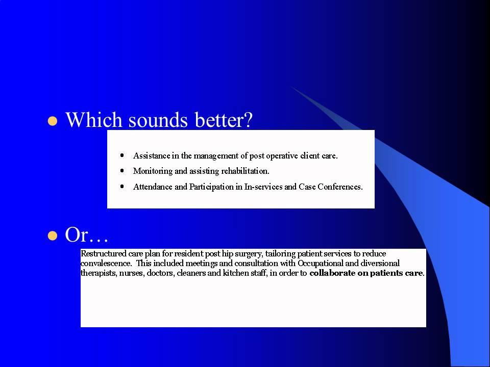 Resume Writing Presentation V3 How To Write A Resume   YouTube