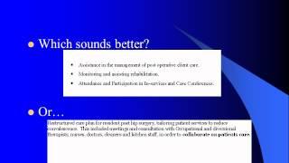 Resume Writing presentation v3 how to write a resume