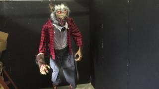 ハロウィン向け狼男のお化けオブジェ 狼男症候群 検索動画 26