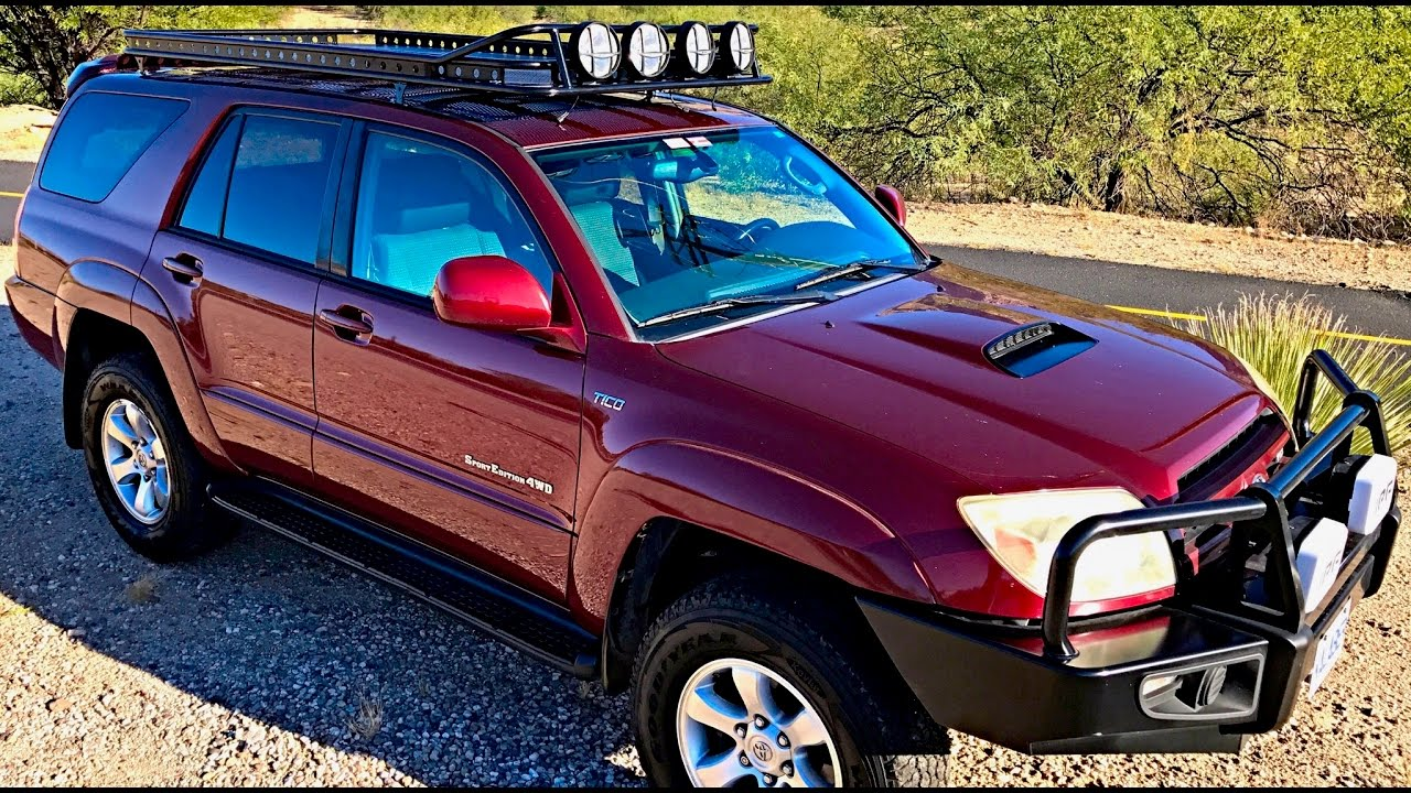 new 4 runner roof rack install by kalaber creations