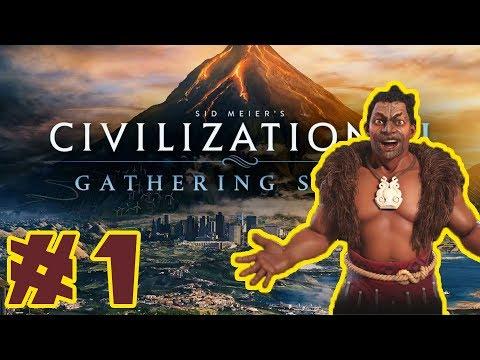 Let's Play - Civilization VI: Gathering Storm! - Maori / Deity - Part 1