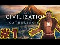 Let's Play - Civilization VI: Gathering Storm! - Maori / Deity - Part 1