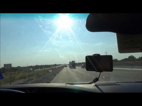 Sony TX20: Road Trip from Dallas, TX to Abilene, TX I-20 West