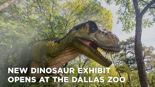 New dinosaur exhibit opens at The Dallas Zoo
