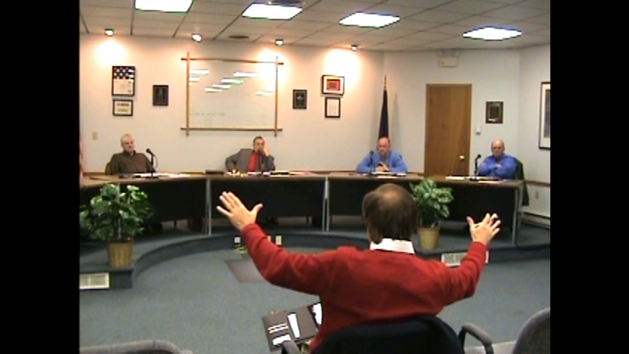 Rouses Point Village Board Meeting  12-20-10