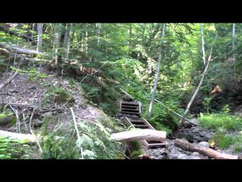 Gil Larsen Nature Trail and Iron Bridge Bayfield Wisconsin