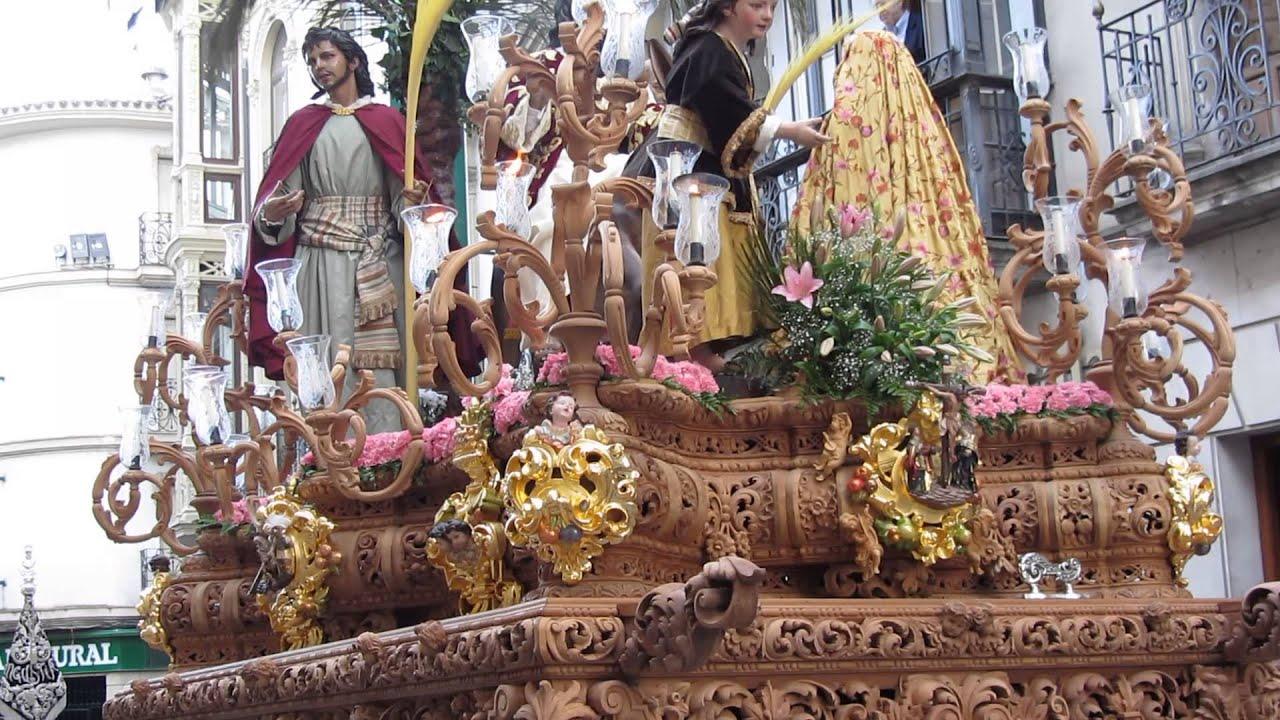Domingo de ramos la borriquilla alcala la real 13 4 2014 - Spa alcala la real ...