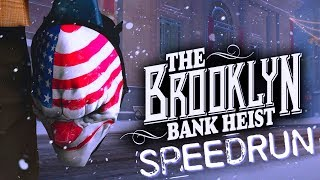 Payday 2 - Brooklyn bank - SpeedRun 5m 34s