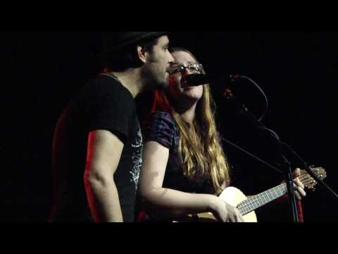 INGRID MICHAELSON GREG LASWELL DUET new untitled song NYC WEBSTER HALL 09.16.09 music