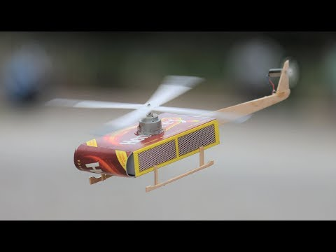 How To Make Helicopter - Matchbox Helicopter DIY toys