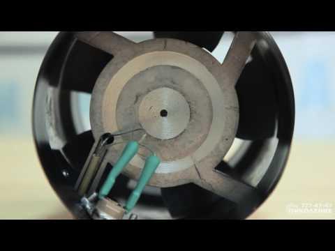 Канальный высокотемпературный вентилятор для каминов MMotors JSC ВК 200 T с датчиком температуры