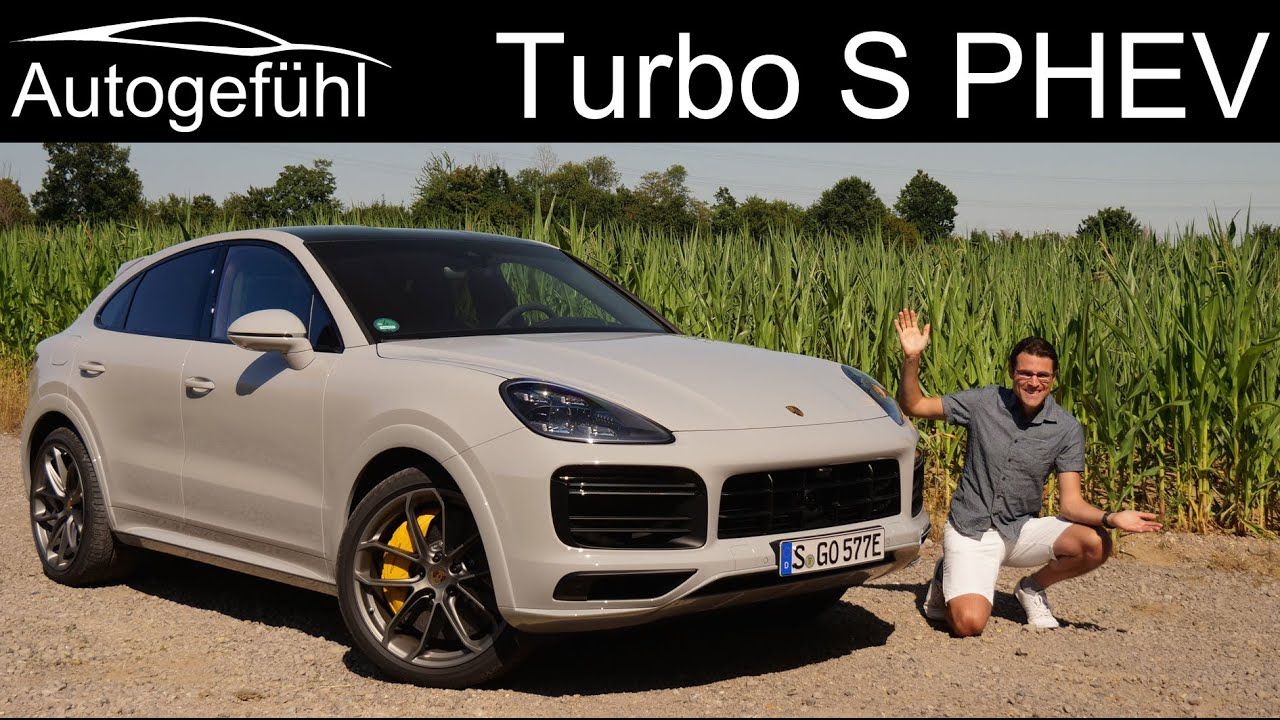 New Most Powerful Cayenne Turbo S E Hybrid Coupe Full Review Phev Autogefuhl Youtube