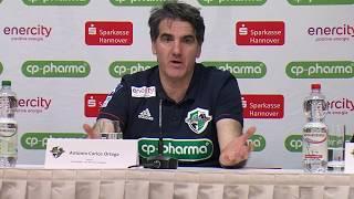 Pressekonferenz | DIE RECKEN - TSV Hannover-Burgdorf vs.GWD Minden | 08.02.2018