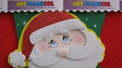 nuevos adornos navideos en foamy o gomaeva con moldes