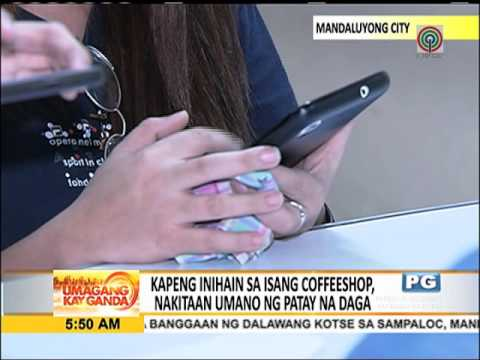 Coffee shop, naghain umano ng kapeng may daga