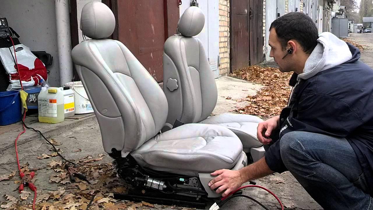 электро регулеровки сидения в мерседес е211