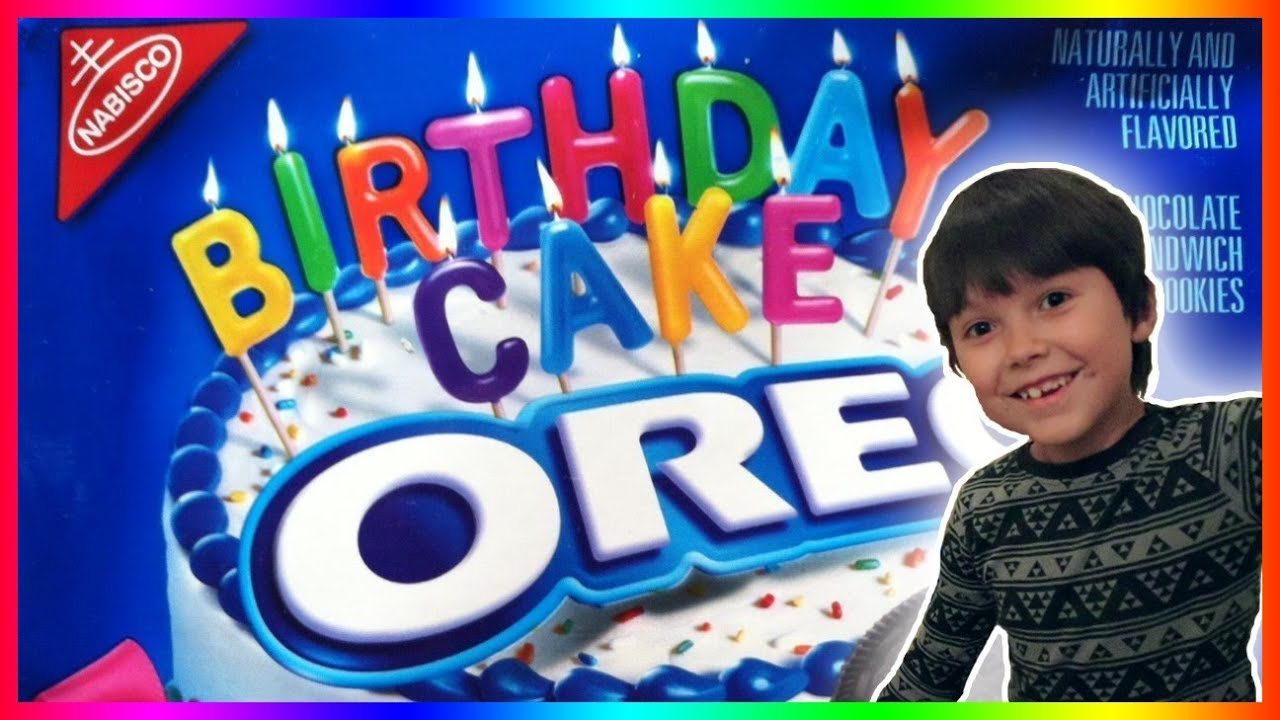 Birthday Cake Oreos Super Yummytaste Test Review Youtube