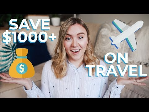 How I Save $1000s on TRAVEL | Travel Rewards HACKS + TIPS