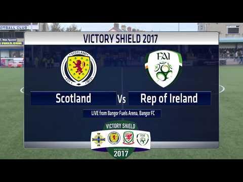 Victory Shield 2017 - Friday Match 1 -  Scotland V Republic of Ireland
