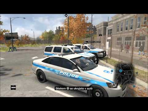 Watch Dogs | Police Stations and Emergency and Fire Truck on Cars on Demand