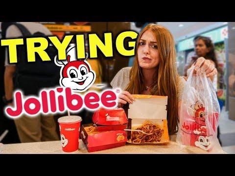 Foreigners Try FILIPINO JOLLIBEE In Singapore!