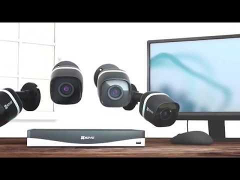 EZVIZ Camera Giới Thiệu Giải Pháp Quan Sát 4K UltraHD