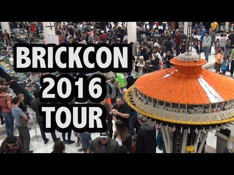 BrickCon 2016 LEGO Convention Complete Guided Tour