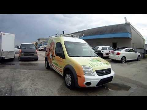 Ford Transit Connect Vinyl 3M Van Wrap Graphics West Palm Beach Florida
