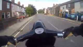 Vespa Primavera round Lowestoft & Oulton Broad - The Who