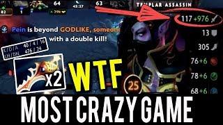 WTF x2 RAPIERS 1200 DAMAGE 40 KILLS INSANE GAME by YapzOr Most Crazy Game Dota 2