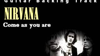 Nirvana - Come as you are (Guitar - Backing Track) w/ Vocals