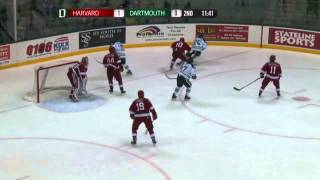 Game Recap - Men's Ice Hockey Blanks Dartmouth, 2-0