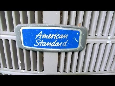 Hvac-2 1/2 ton american standard air conditioning unit over charged