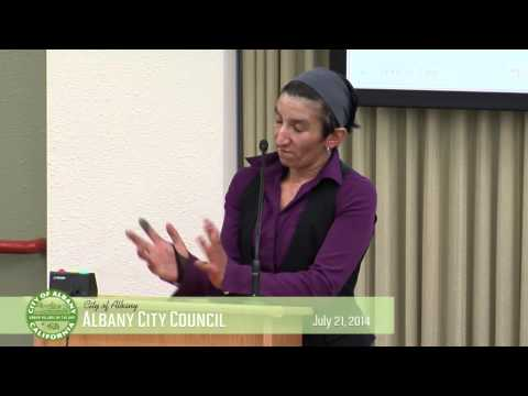 Albany City Council - July 21, 2014