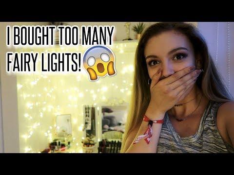 I ORDERED TOO MANY FAIRY LIGHTS!!   Summer Vlog #15