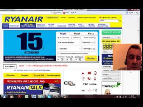 Mit Ryanair Günstig Nach Teneriffa Fliegen
