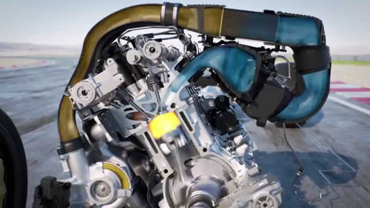 BMW direct water injection system - YouTube