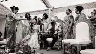 Indian Wedding Photography of Amy & Seva ~ England, 2015