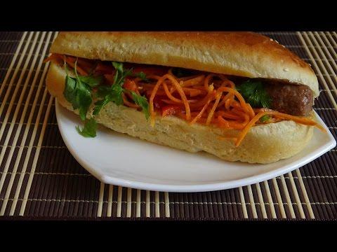 Хот-дог: как  сделать булку для хот-дога. Домашний fast food.