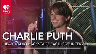 Charlie Puth Backstage At His iHeartRadio Theater Album Release Party Live On The Honda Stage